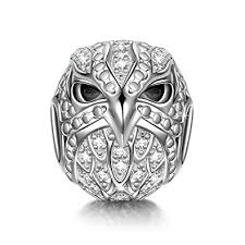 Pandora Halloween Charms by Ninaqueen Eagle 925 Sterling Silver Bead For Women Fit Pandora