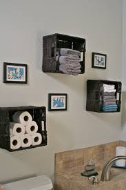 Bathroom Storage - Baskets For Towels, Toilet Paper Etc Love The ... Small Space Bathroom Storage Ideas Diy Network Blog Made Remade 15 Stunning Builtin Shelf For A Super Organized Home Towel Appealing 29 Neat Wired Closet 50 That Increase Perception Shelves To Your 12 Design Including Shelving In Shower Organization You Need To Try Asap Architectural Digest Eaging Wall Hung Units Rustic Are Just As Charming 20 Best How Organize Tiny Doors Combo Linen Cabinet