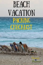 Beach Vacation Packing Checklist