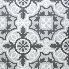 Grey Patterned Floor Tiles – novic
