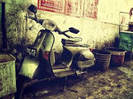 Old Vespa By Deko2
