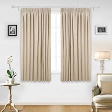Amazon Uk Living Room Curtains by Deconovo Super Soft Ready Made Curtains Thermal Insulated Pencil
