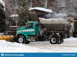 100 Trucks In Snow Removal And Road Salt Truck Editorial Image Image Of Quebec