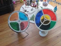 Rotating Color Wheel For Christmas Tree by Danielle Bennignus January 2012
