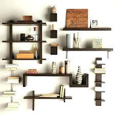 Decorative Metal Wall Shelves Wood Wooden Shelf Photo