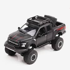 100 Toy Ford Trucks 132 Kids S Raptor Big Foot F150 Pickup Truck Metal Cars