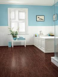 waterproof vinyl plank flooring laminate bathroom floors hgtv