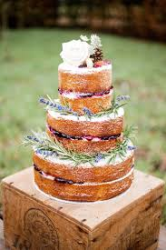 Naked Lavender Wedding Cakewedding Cake Ideaswedding Pictureswedding Images