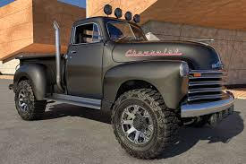 1951 Chevrolet Pickup 4x4, Truck, Pickup, Vehicle, Oldsmobile ...