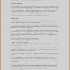 Resume Summary Of Qualifications Examples Project Manager Best Of