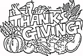 Coloring Worksheets For Thanksgiving Pages Kids And Throughout Printable