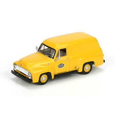 HO RTR 1955 Ford F-100 Panel Truck, NYC (ATH27683): Athearn Trains