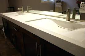 sinks trough bathroom sink with two faucets canada 2 faucet