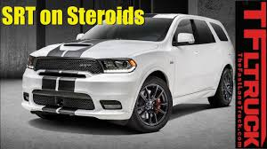 2018 Dodge Durango SRT On Steroids: Everything You Ever Wanted To ... 2018 New Dodge Durango Truck 4dr Suv Rwd Rt At Landers Chrysler Diy Dodge Durango Bumper 2014 Move The Evolution Of The 2015 Used 2000 Parts Cars Trucks Pick N Save Srt Pickup Fills Ram Srt10sized Hole In Our Heart Pin By World Auto On My Wallpaper Collection Pinterest Durango Review Notes Interior Luxury For Three Rows Roadreview20dodgedurangobytimesterdahl21600x1103 2017 Sxt Come With More Features Lifted 1999 4x4 For Sale 35529a And Sema Debut Shaker Official Blog