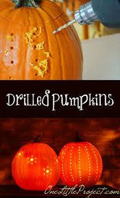 Pumpkin Carving Drill by 23 Clever Pumpkin Carving Hacks
