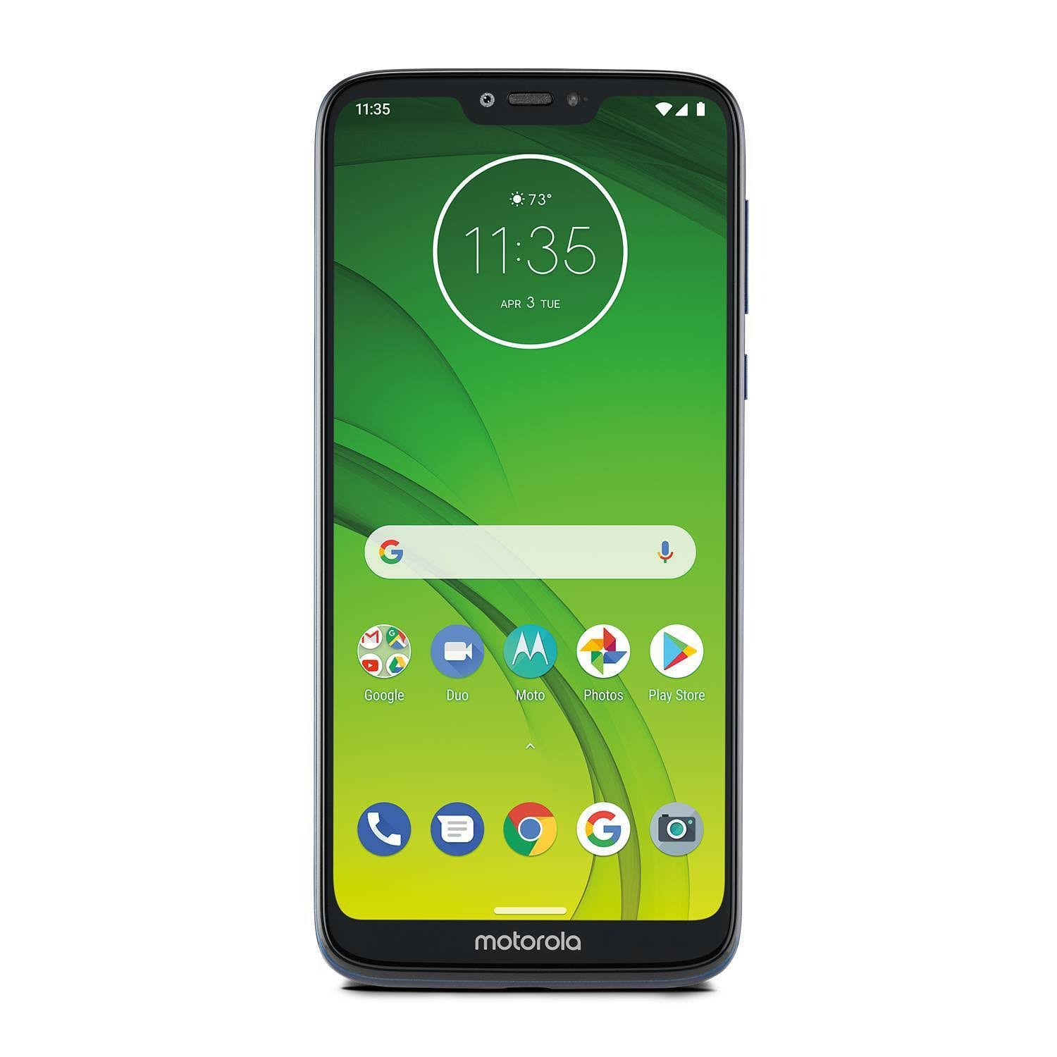 Consumer Cellular Postpaid Moto G7 Power (32GB) - Blue