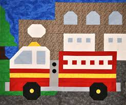Fire Truck Quilt Block - Google Search | Firefighter | Pinterest ... Unbelievable Fire Truck Bedding Twin Full Size Decorating Kids Trains Airplanes Trucks Toddler Boy 4pc Bed In A Bag Fire Trucks Sheets Tolequiztriviaco Truck Bedding Twin Mainstays Heroes At Work Set Walmartcom Boys With Slide Bedroom Decorative Cool Bunk Bed Beds 10 Rooms That Make You Want To Be Kid Again Decorations Lovely 48 New