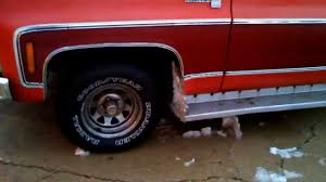 100 Goodyear Wrangler Truck Tires How My Radial Handle In Snow And Slush YouTube