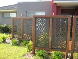 Decorative Garden Fence Home Depot by Outdoor Screens Outdoor Screens Sunshine Coast Living Style