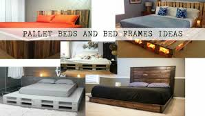 Pallet Bed Frame by Pallet Beds And Bed Frames Ideas