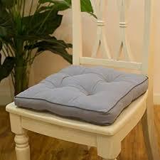 sitzkissen stuhlkissen sitzpolster stühle 40x40 cm bequemes