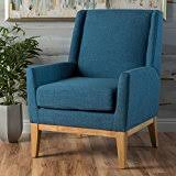Teal Living Room Chair by Amazon Com Blue Chairs Living Room Furniture Home U0026 Kitchen