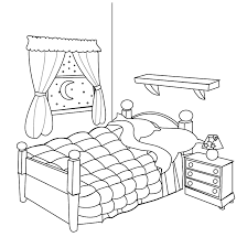 Bedroom Clipart by Bedroom Clipart Line Drawing China Cps