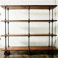 build a budget friendly industrial shelf using pvc pipe cuttings