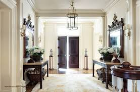 Dining Room Entrance Design Front Door Opens Into Area