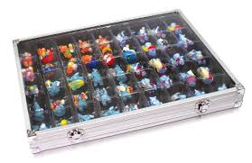 Amazon Aluminum Collecting Display Case For Legos Squinkies Rocks And MORE Sports Outdoors