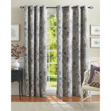 Thermal Lined Curtains Walmart by Better Homes And Gardens Calista Print Room Darkening Curtain