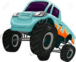 100 Monster Truck Engine Illustration Of A Revving Its Stock Photo