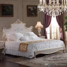 großhandel hochwertige klassische möbel schlafzimmer barock stil bett high end klassiker kingsize bett größe fpfurniturecn 1 469 33 auf