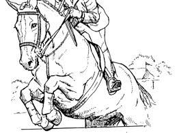 Realistic Horse Coloring Pages To Print AZ
