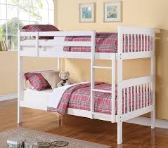 cute white bunk beds twin over twin beautiful white bunk beds