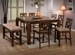 Bar Stool Bench Furniture Stools Coaster Collection Walnut Piece Dining Set Benches