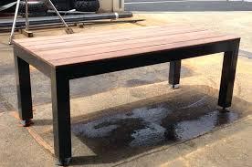 canapé teck jardin canape bois exotique table de salon en bout canapac teck jardin