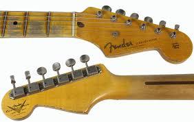 Fender Custom Shop 1955 Heavy Relic Stratocaster Desert Tan O 2TS