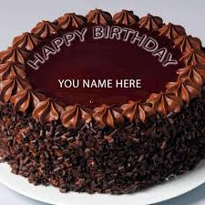 heart shaped chocolate birthday cake pictures with name edit online personalized lovers chocolate birthday cakes write name print name on happy birthday