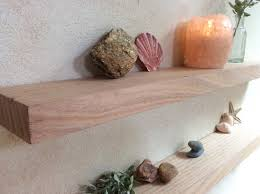Floating Shelves Wood Australian Perth Oak Rustic Shelf Set Of Two Bathroom Kitchen Shelving