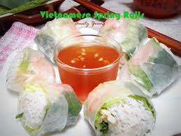 cuisiner 駱inard 安迪漾 rolls 越南鲜虾米纸卷