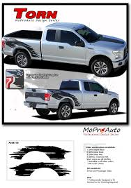 100 Ford Truck Decals TORN F150 Side Bed 4X4 Mudslinger Ripped Style