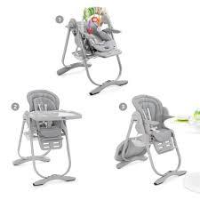 chaise haute évolutive chicco chicco chaise haute évolutive polly magic light grey light grey