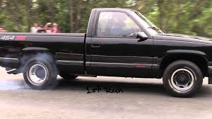 454 SS Chevy Truck - Quarter Mile Sprint - YouTube