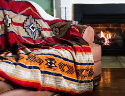 Southwest Decoratives Quilt Shop by Amazon Com Cozy Fleece Oversized Southwestern Throw With Reverse