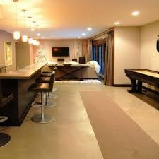 Cheap Basement Ceiling Ideas by Flooring Inexpensive Basement Finishing Ideas With Home Bar Semi