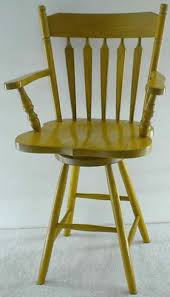 Amish Colonial Arrow Back Barstool