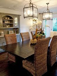 Casual Dining Room The Rattan Furniture In This Neutral Instantly Transforms Space Into