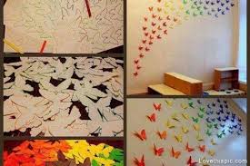 Attractive Design Ideas Diy Wall Decor Projects With Easy Art Marvelous Pinterest And Butterfly Trend Steampunk