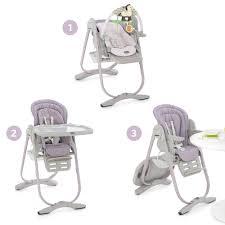 chaise haute polly magic de chicco chaises hautes réglables aubert